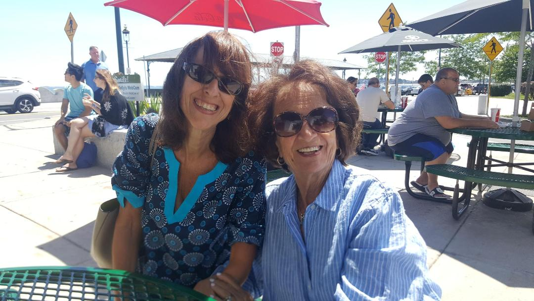 M and mom pic 3 – Marcie Abramson